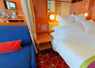 Foto cabina Norwegian Dawn  - Cabina suite