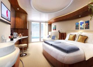 Foto cabina Norwegian Epic  - Cabina con balcone