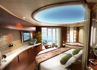Foto cabina Norwegian Epic  - Cabina suite