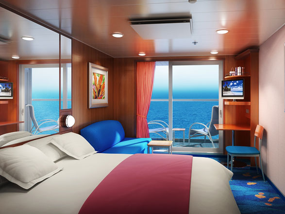 Foto cabina Norwegian Gem  - Cabina con balcone