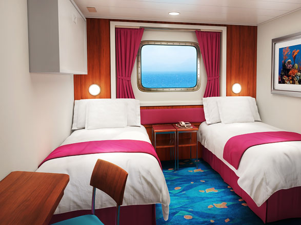 Foto cabina Norwegian Gem  - Cabina esterna