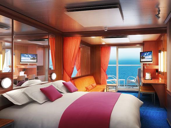 Foto cabina Norwegian Gem  - Cabina suite