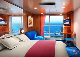 Foto cabina Norwegian Jewel  - Cabina con balcone