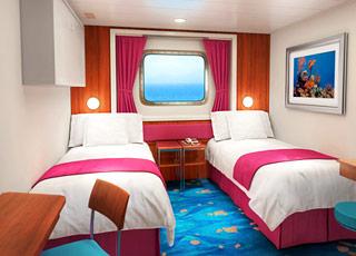 Foto cabina Norwegian Jewel  - Cabina esterna