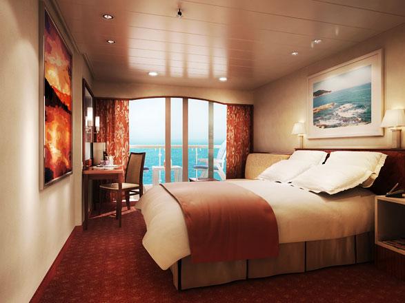 Foto cabina Norwegian Spirit  - Cabina con balcone