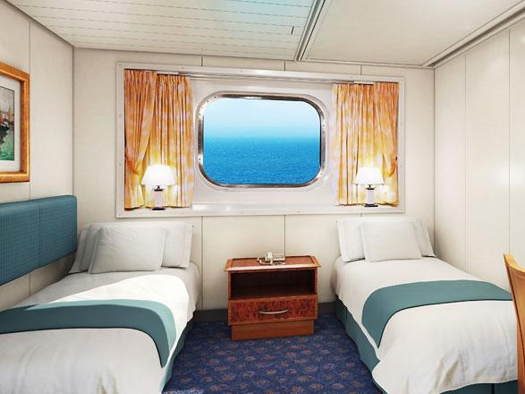 Foto cabina Norwegian Spirit  - Cabina esterna