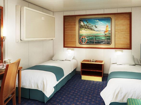 Foto cabina Norwegian Spirit  - Cabina interna