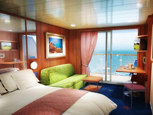Foto cabina Norwegian Star  - Cabina con balcone