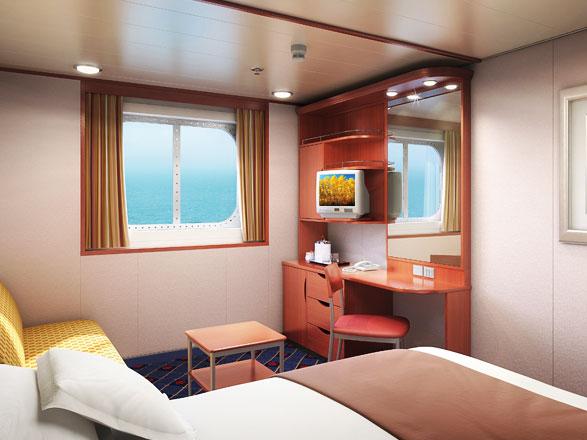 Foto cabina Norwegian Sun  - Cabina esterna