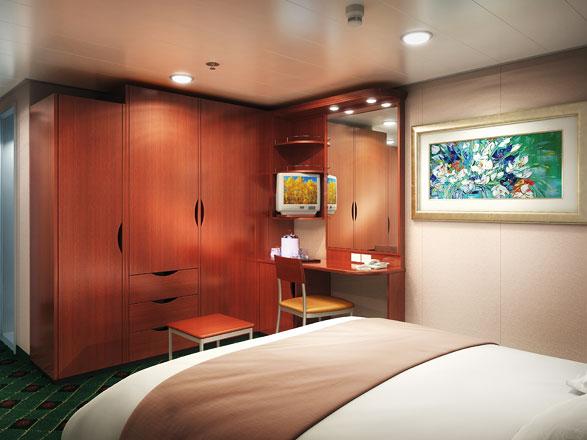 Foto cabina Norwegian Sun  - Cabina interna