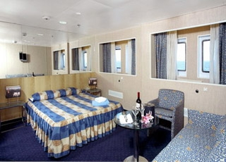 Foto cabina Orient Queen  - Cabina esterna