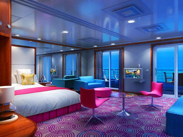 Foto cabina Pride of America  - Cabina suite