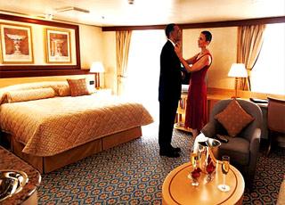 Foto cabina Queen Elizabeth  - Cabina suite
