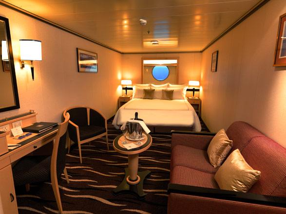 Foto cabina Queen Mary 2  - Cabina esterna