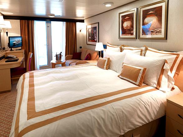 Foto cabina Queen Victoria  - Cabina con balcone