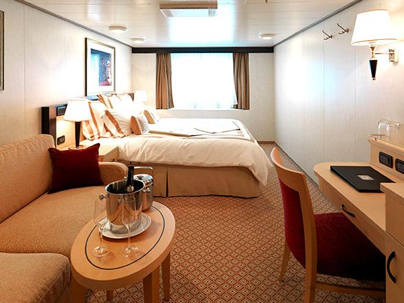Foto cabina Queen Victoria  - Cabina esterna
