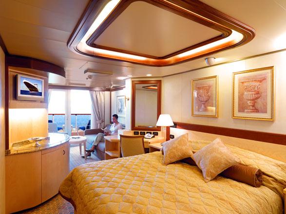Foto cabina Queen Victoria  - Cabina suite