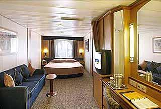 Foto cabina Radiance of the Seas  - Cabina esterna