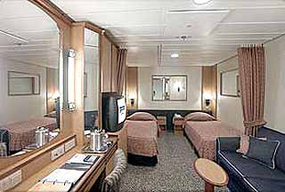 Foto cabina Radiance of the Seas  - Cabina interna