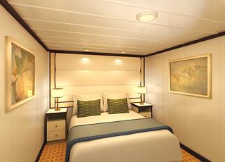 Foto cabina Royal Princess  - Cabina interna