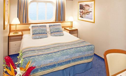 Foto cabina Sea Princess  - Cabina esterna