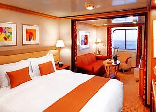 Foto cabina Silver Whisper  - Cabina suite