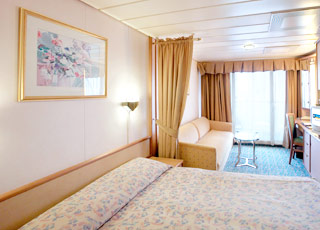 Foto cabina Splendour of the Seas  - Cabina con balcone