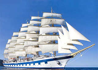 Crociera a bordo della Royal Clipper 4 ****
