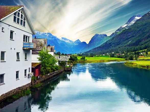 Crociera Hellesylt(Norvegia)