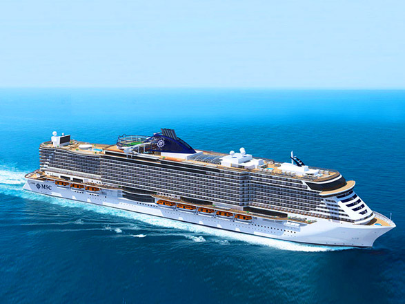 Minicruceros a bordo del MSC Seaview