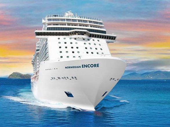 Año Nuevo a bordo del Norwegian Encore