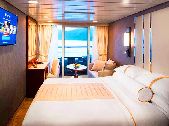 Foto camarote Azamara Quest  - Camarote con balcón