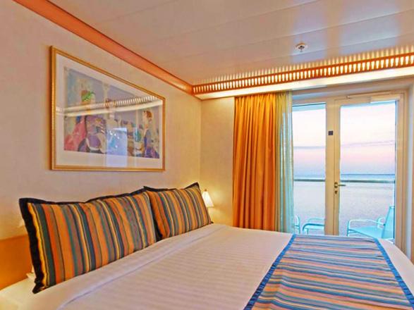 Foto camarote Costa Mediterranea  - Camarote con balcón