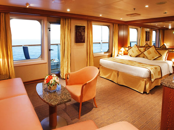 Foto camarote Costa Pacifica  - Camarote suite