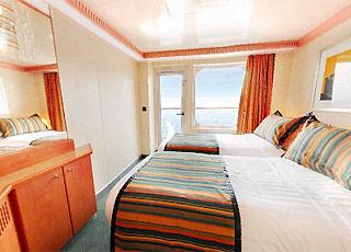 Foto camarote Costa Serena  - Camarote con balcón