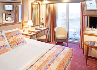 Foto camarote Grand Princess  - Camarote con balcón
