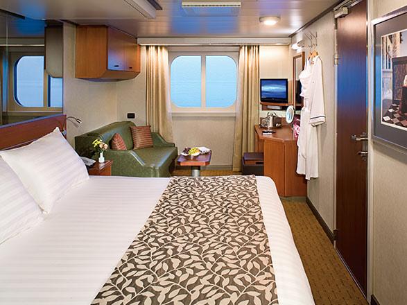 Foto camarote MS Eurodam  - Camarote exterior