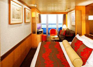 Foto camarote MS Ryndam  - Camarote suite