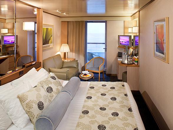 Foto camarote MS Zaandam  - Camarote con balcón
