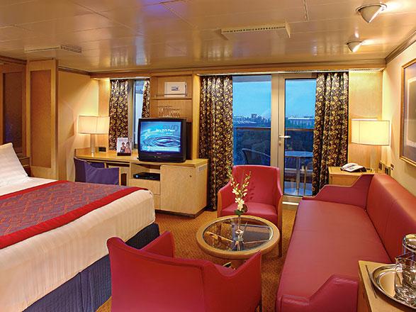 Foto camarote MS Zuiderdam  - Camarote suite