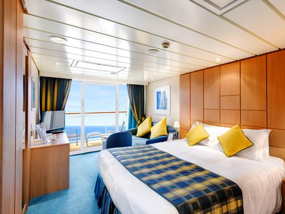 Foto camarote MSC Armonia  - Camarote suite