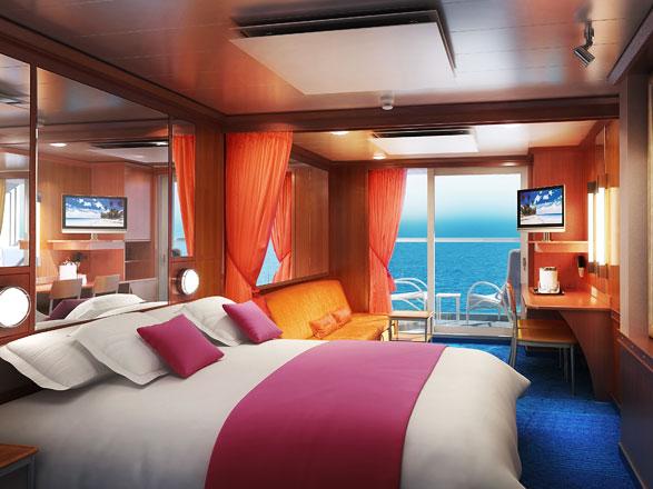 Foto camarote Norwegian Jade  - Camarote suite