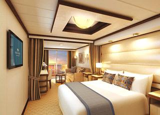 Foto camarote Royal Princess  - Camarote suite
