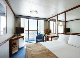 Foto camarote Sea Princess  - Camarote con balcón
