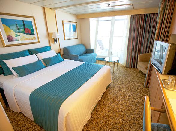 Foto camarote Sovereign  - Camarote suite