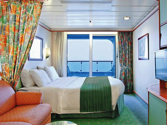 Foto camarote Voyager of the Seas  - Camarote con balcón