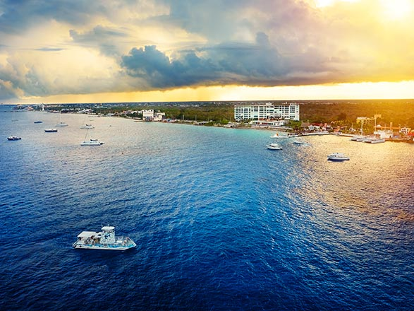 Jamaica, Gran Caimán, México, Bahamas
