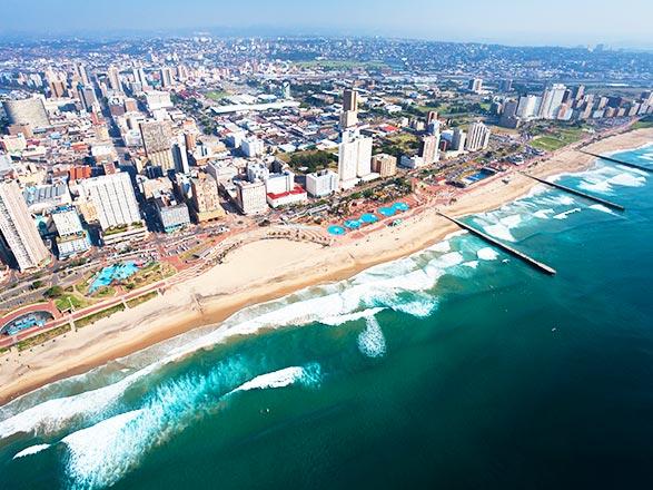 croisière África : Sudáfrica, Mozambique