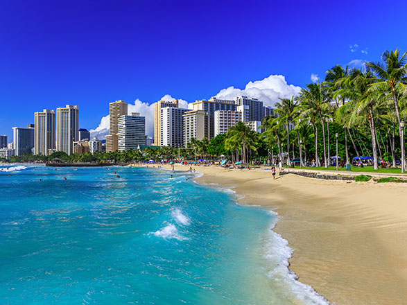 croisière Pacífico - Australia : Hawai