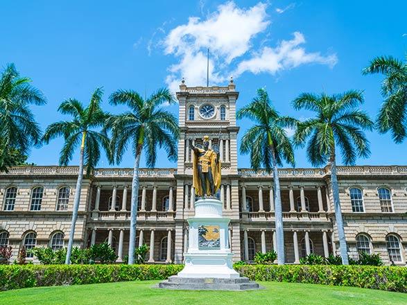 croisière Pacífico : Hawai